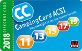 Discount for Rv's camping sites