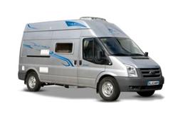 Innovative Comfort Luxury 4 Berth Campervan  McRent Motorhomes Switzerland